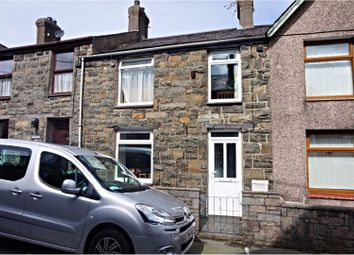 Thumbnail 3 bed terraced house for sale in Well Street, Llanberis, Caernarfon
