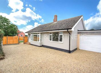 Thumbnail 2 bed detached bungalow for sale in New Queens Road, Sudbury