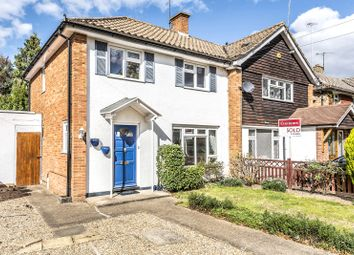Thumbnail 2 bed semi-detached house for sale in Webster Close, Oxshott, Leatherhead