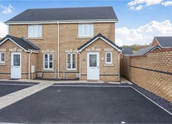 Thumbnail 2 bed semi-detached house for sale in Worcester Court, Porth