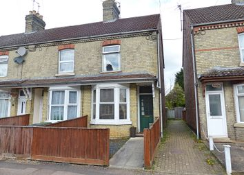 Thumbnail 3 bed end terrace house for sale in Clifton Avenue, Peterborough