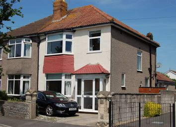 3 bed semi-detached house for sale in Southville Road, Weston-Super-Mare, North Somerset BS23