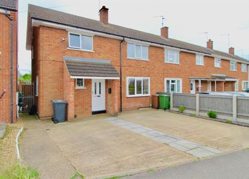 Thumbnail 3 bed end terrace house for sale in Thistle Drive, Stanground, Peterborough