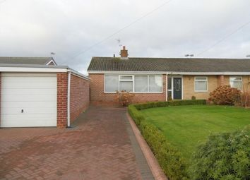 Thumbnail 2 bed semi-detached bungalow for sale in Lambton Drive, Bishop Auckland