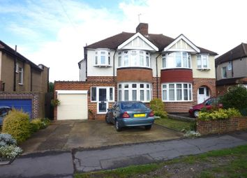 Thumbnail 3 bedroom semi-detached house for sale in Ruxley Lane, West Ewell, Epsom