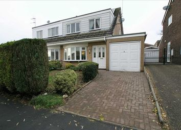 Thumbnail 3 bed semi-detached house for sale in Defoe Drive, Park Hall, Stoke On Trent
