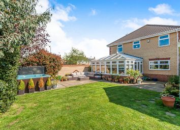 Thumbnail 4 bed detached house for sale in Rosyth Avenue, Orton Southgate, Peterborough