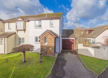 Thumbnail 3 bed semi-detached house for sale in Greenacre Close, North Tawton