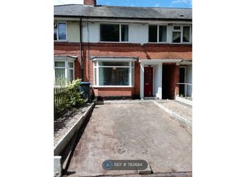 Thumbnail 3 bed terraced house to rent in Bidford Road, Birmingham