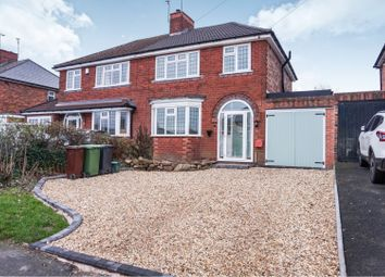 Thumbnail 3 bed semi-detached house for sale in Braden Road, Wolverhampton
