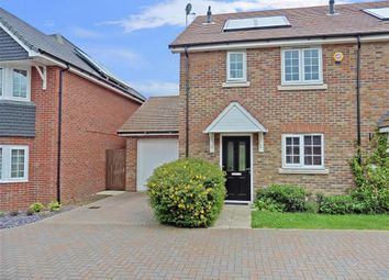 Thumbnail 3 bed terraced house for sale in Penrith Crescent, Wickford, Essex