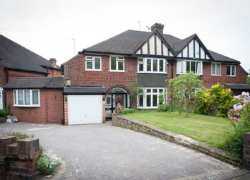 Thumbnail 4 bed semi-detached house for sale in Grange Road, Erdington, Birmingham