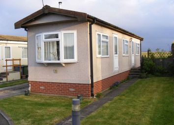 Thumbnail 1 bedroom mobile/park home for sale in Newton Park Homes, Newton St. Faith, Norwich