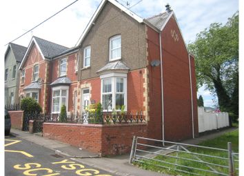 Thumbnail 3 bed end terrace house for sale in Conway Road, Pontypool