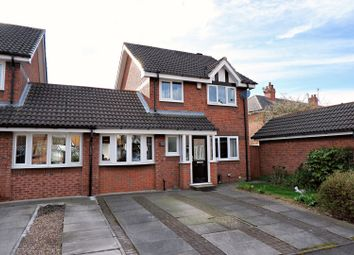 Thumbnail 3 bedroom link-detached house for sale in Stonechat Close, Manchester