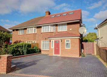 Thumbnail 5 bed semi-detached house for sale in Marlborough Road, Langley, Slough