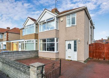 Thumbnail 3 bed semi-detached house for sale in Grove Park Avenue, Rhyl