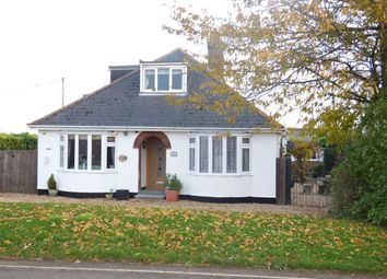Thumbnail 3 bed detached bungalow for sale in Herne Road, Ramsey St Marys, Ramsey, Huntingdon, Cambridgeshire