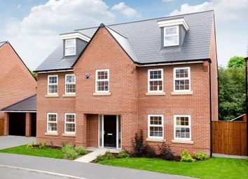 "Thumbnail 5 bedroom detached house for sale in ""Lichfield"" at Warkton Lane, Barton Seagrave, Kettering"