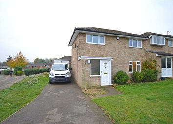 Thumbnail 3 bed semi-detached house for sale in Grovebury Dell, Kingsthorpe, Northampton