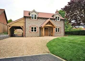 Thumbnail 4 bed detached house for sale in Church Lane, Harpley, King's Lynn