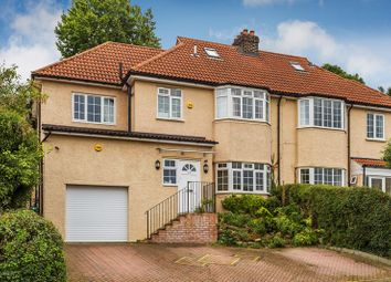 Thumbnail 4 bed semi-detached house for sale in Hartley Down, Purley