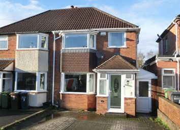 Thumbnail 3 bedroom semi-detached house for sale in Wiseacre Croft, Shirley, Solihull
