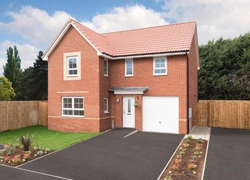 "Thumbnail 4 bed detached house for sale in ""Halton"" at Carter Knowle Road, Bannerdale, Sheffield"