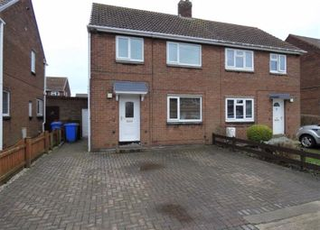 Thumbnail 2 bed semi-detached house for sale in Mindrum Way, Seaton Delaval, Whitley Bay