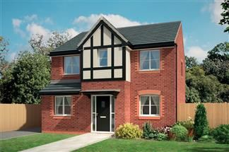 Thumbnail 4 bed detached house for sale in Crewe Road, Winterley