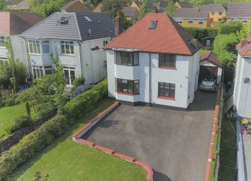 Thumbnail 4 bed detached house for sale in Cefn Road, Rogerstone, Newport