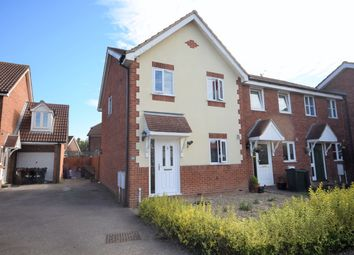 Thumbnail 3 bed end terrace house for sale in Park Wood Close, Kingsnorth, Ashford