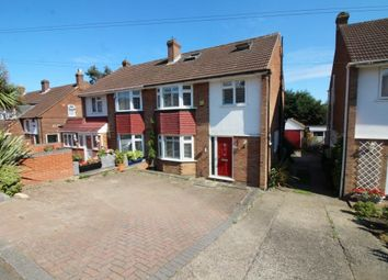 Thumbnail 4 bedroom semi-detached house to rent in Cranfield Crescent, Cuffley, Potters Bar