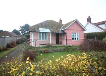 Thumbnail 3 bed detached bungalow for sale in Church Road, Hoveton, Norwich