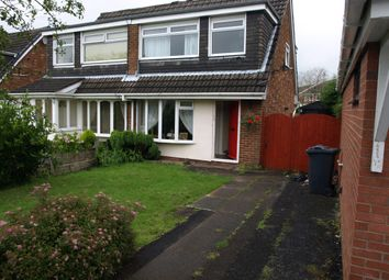 Thumbnail 3 bed semi-detached house to rent in Thoroughgood Close, Burscough, Lancashire
