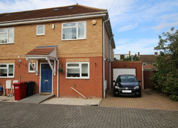Thumbnail 4 bed semi-detached house for sale in Old Bath Road, Colnbrook, Slough