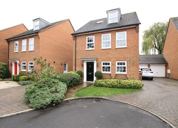 Thumbnail 4 bed detached house for sale in Cedar Gardens, Chobham, Woking, Surrey