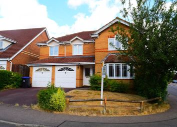 Thumbnail 5 bed property to rent in Knightons Way, Brixworth, Northampton