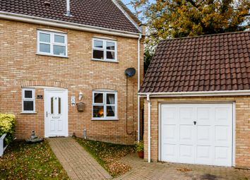 Thumbnail 3 bed semi-detached house for sale in 15 Bluebell Close, Thetford