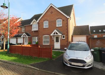 Thumbnail 3 bed end terrace house for sale in Alder Road, Hampton Hargate, Peterborough