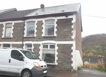 Thumbnail 3 bed end terrace house for sale in Clydach Road, Blaenclydach, Tonypandy