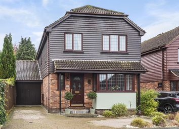 Thumbnail 4 bed detached house for sale in Laurie Gray Avenue, Blue Bell Hill, Chatham