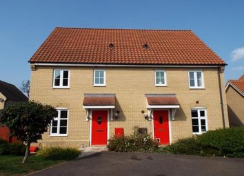 Thumbnail 3 bed property to rent in Kendall Close, Bury St. Edmunds