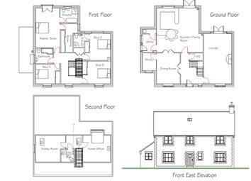 Thumbnail 4 bed detached house for sale in Massingham Road, Castle Acre, King's Lynn