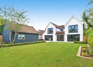 Thumbnail 5 bedroom detached house for sale in Coggeshall Road, Dedham, Colchester