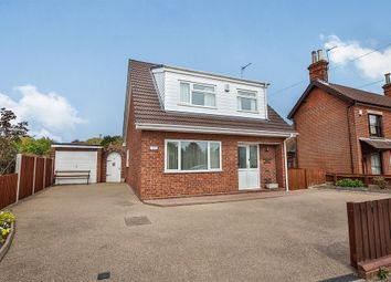 Thumbnail 3 bed detached bungalow for sale in Fakenham Road, Drayton, Norwich