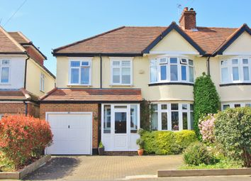 Thumbnail 5 bed semi-detached house for sale in Chiltern Drive, Surbiton
