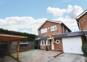 Thumbnail 3 bed detached house for sale in Trelawn Close, Ottershaw, Chertsey