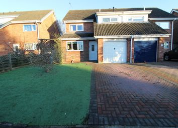 Thumbnail 3 bed semi-detached house for sale in Pendeen Close, Gainsborough