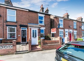 Thumbnail 2 bed end terrace house for sale in Woodville Road, Ipswich